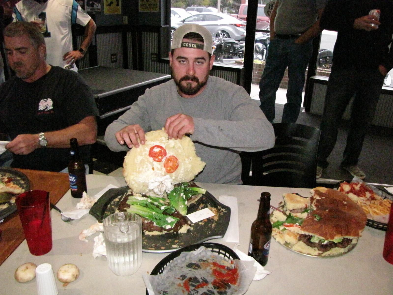 Burger Challenge 12/15
